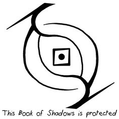 Anonymous said: If you have time could you make a sigil to protect my book of shadows from people I have not given permission to look at? If you have a link to one that's even better so you don't have...