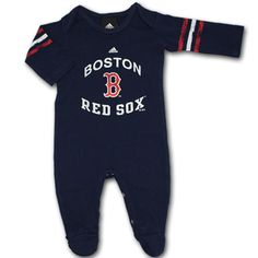 boston red sox baby clothes | red sox distressed sleeper 100 % cotton this boston red sox baby ...