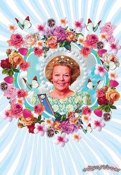 Queen Beatrix *De Kunstboer*