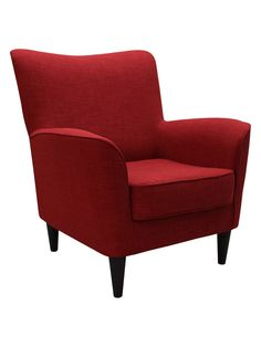Rex Lounge Chair from Color Crush: Oxblood Tones on Gilt