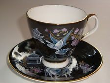 dark gray tea cups and saucers - Google Search