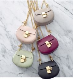 Dont waste a single second: you can now shop Chloe Allens cuter-than-cute Nano Drew bag - Sale! Shop at Stylizio for womens and mens designer handbags luxury sunglasses watches jewelry purses wallets clothes underwear more! Fashion Handbags, Purses And Handbags, Fashion Bags, Chloe Handbags, Chloe Bag, Chanel, Cute Bags, Luxury Bags, Beautiful Bags