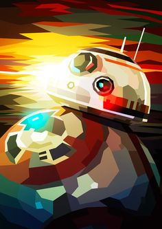 Artist Showcase - Colorful Star wars illustrations by Liam Brazier Star Wars Fan Art, Star Wars Droiden, Wallpaper Cars, Star Wars Wallpaper, Star Wars Pictures, Star Wars Images, Cuadros Star Wars, Star War 3, Star Wars Poster