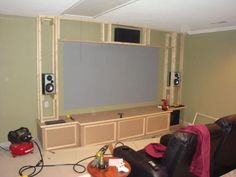 Build your Own Home Theater- Step by Step...my husband has already informed me that this will be his first project when we buy a house!