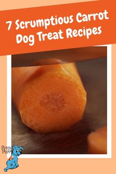 Carrots add a nice sweet element to homemade dog treats. These carrot dog treat recipes are a nice way to add a healthy touch to your homemade dog treats. Give them a try! Dog Treat Recipes, Dog Biscuit Recipes, Dog Food Recipes, Pumpkin Dog Treats Homemade, Homemade Dog Food, Carrot Dogs, Cat Treats, Healthy Dog Treats, Carrots For Dogs