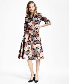 Elbow-Sleeve Dress