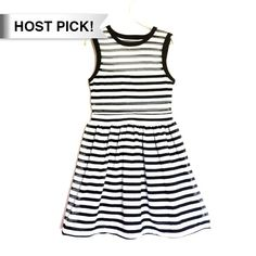 🎉HP!🎉 UO black white striped dress small Adorable dress with mesh see through stripes. Fit and flare stretchy and elastic throughout. No zip. Excellent condition. Only worn once! Bundle to save 25%! silence + noise Dresses Mini