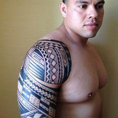 samoan ink   polynesian #tatts #samoan #tattoo #kingafa #inkedmag #ink #urbanink # ...