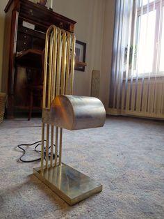 MARCEL BREUER LAMPE - LAMP - Paris 1925-  Rarität - RAR