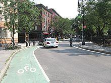 #ridecolorfully down Bleecker Street, NYC!!!