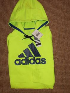 adidas hoodie mens yellow
