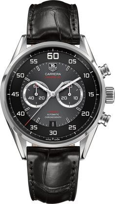 TAG Heuer Watch Carrera Chronograph Flyback Calibre 36 #bezel-fixed #bracelet-strap-alligator #brand-tag-heuer #case-material-steel #case-width-43mm #chronograph-yes #date-yes #delivery-timescale-call-us #dial-colour-black #flyback-yes #gender-mens #luxury #movement-automatic #official-stockist-for-tag-heuer-watches #packaging-tag-heuer-watch-packaging #style-sports #subcat-carrera #supplier-model-no-car2b10-fc6235 #warranty-tag-heuer-official-2-year-guarantee #water-resistant-100m
