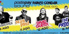 Postepay Sound Parco Gondar: il 12 agosto ci sarà il top dj David Guetta