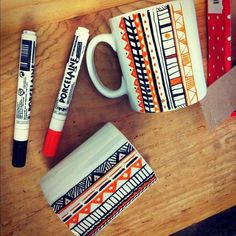 DIY mugs cool!