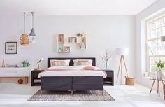 vosgesparis: Find your bedroom style with vtwonen and win it all! Decor, Furniture, Interior, Bright Rooms, Home Decor, Bedroom Inspirations, Bedroom, Home And Living, Bedroom Styles