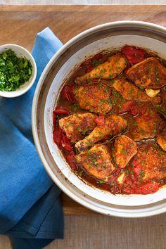 Vinegar-Braised Chicken