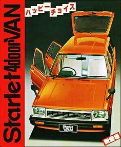 Toyota Starlet Van - brochure