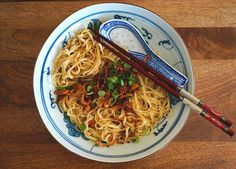 Seasaltwithfood: Chinese Egg Noodles With Shallot Oil