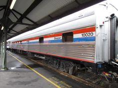 Take a train trip and sleep in a sleeper car