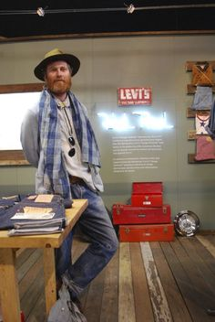 "The "" Denim Jedi's Clan "". Miles Johnson - Creative Director, LVC and Levi's Made and Crafted"