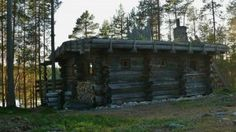 Nordic Adventures log cabin at Salla
