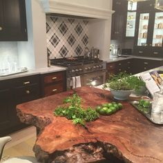 Kips Bay Decorator Showhouse 2015 with a sleek kitchen designed by Christopher Peacock and innovative Dacor kitchen appliances. #BlogTourNYC Kathleen DiPaolo