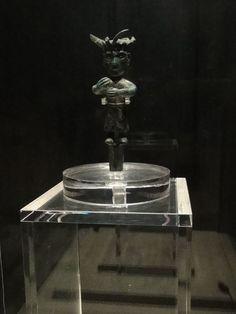 Bronze Standing Figure at Jinsha Site Museum