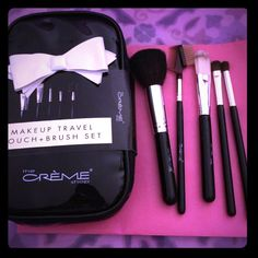 Make up Travel Brush set Make up Travel Pouch and Brush set Sephora Makeup Brushes & Tools