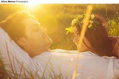 Engagement Portrait of Paul & Mikaela. Facebook.com/alluramaison #alluramaison #photography #portrait #fashion #art #artist #flowers #flowerheadband #flowercrown #fashionphotographer #grass #field #nature #naturelover #canberra #australia #style #model #boho #hippy #gypsy #bohemian #love #lovers #couple #engagement #portrait #bridal