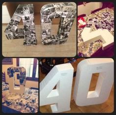 Cumple 40 Bedroom Decoration how to decorate a bedroom 40th Bday Ideas, 40th Birthday Decorations, 70th Birthday Parties, 40th Birthday Themes, Elegant Birthday Party, Birthday Collage, Birthday Photos, Birthday Woman, Birthday Invitations