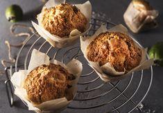 Coconut feijoa muffins