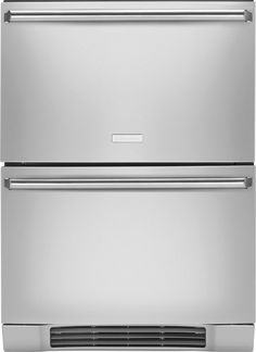 "Refrigerator/Freezer Drawers---------------------- View the Electrolux EI24RD65H 24"" Refrigerator Drawers with Perfect Set Temperature Control and Luxury-Glide System at Build.com."