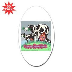 Heavy #Cream #Music 4 #Cows #Humor #Stickers 20%off Code NORTHPOLE20 @LTCartoons @cafepress @pinterest #clapton #sale #gift