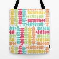 Tote Bag featuring Colorful Vines One by Robin Gayl