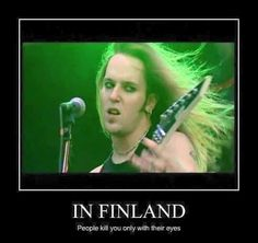 In Finland