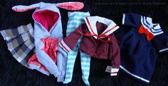 ღ Free BJD Clothes Patterns List