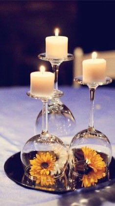 15 ideias criativas para usar taças e garrafas de vinho - Meus 5 Minutos | Casa