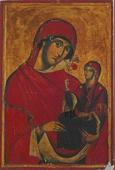 Religious Paintings, Religious Art, St Anne, Orthodox Christianity, Orthodox Icons, Christian Faith, Byzantine, Virgin Mary, Ikon