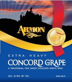 NV Armon Extra Heavy Concord New York mL Red Wine *** Read more  at the image link. (Amazon affiliate link)