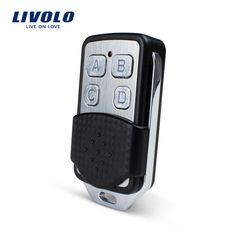 Envío Libre, Livolo Interruptor de Luz de Pared Accessaries, RF Mini Regulador Alejado Interruptor Remoto Controlador VL-RMT-02