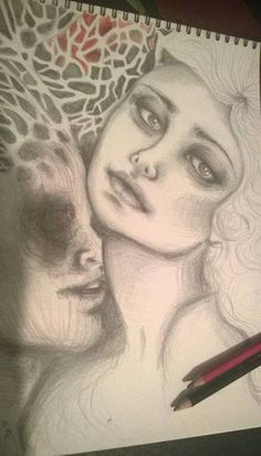 One of my dreams. Drawing, my work