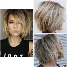 20 ideas on Bob's haircuts for women 2019 - NALOADED - Top Trends Short Bobs Haircuts Look Sexy and Charming! Bob Haircuts For Women, Short Bob Haircuts, Short Hairstyles For Women, Hairstyle Short, Hairstyles 2018, Short Haircuts For Round Faces, Choppy Bob Hairstyles For Fine Hair, Bob Haircut Curly, Great Haircuts