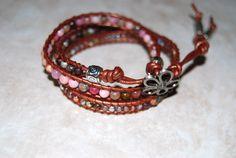 Chan Luu inspired wrap bracelets - Handmade gemstone and Czech cystals by BlendedbandsbySweetp,
