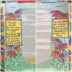 #illustratedfaith #biblejournaling #journalingbible
