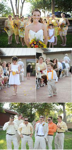 Cute suspenders on ring bearer | Spring Texas Wedding II