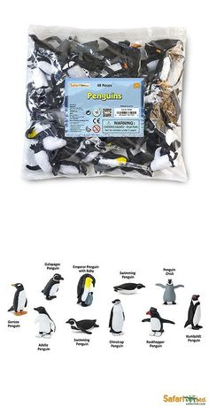 Animals and Nature 31744: Penguins Bulk Bag #761904 - 48 Pcs. Ships Free W $25+ Safari -> BUY IT NOW ONLY: $34.19 on eBay!
