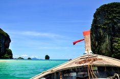 Krabi Thailand Inseln Strand Inselhopping Inseltour Langschwanzboot Four Islands (2)
