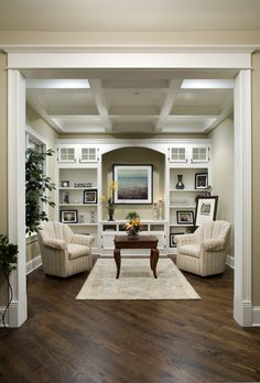 I would love a room like this in our master bedroom with a fireplace and a chaise lounge.