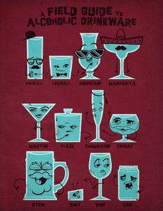 Illustrations and Poster Designs by Jublin know u drink...