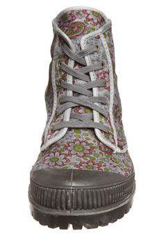 ZAZIE FLEUR - Zapatillas altas - gris